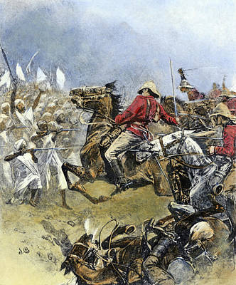 Drawing - Battle Of Omdurman, 1898 by Granger