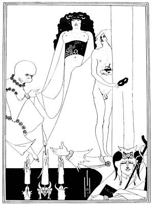Christianity Drawing - Beardsley Salome by Granger