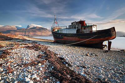 Ben Nevis Photograph - Ben Nevis by Grant Glendinning