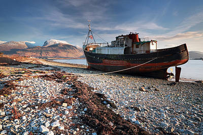 Nevis Photograph - Ben Nevis by Grant Glendinning
