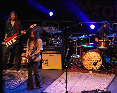 Photograph - Blackberry Smoke Live In Spokane 2013 by Ben Upham