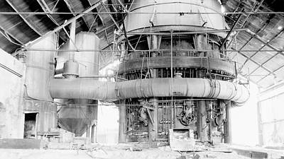 Everett Photograph - Blast Furnace by Hagley Museum And Archive