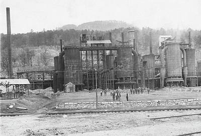Southern States Photograph - Blast Furnaces by Hagley Museum And Archive