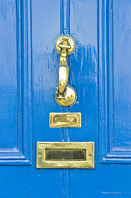 Photograph - Blue Door by Tom Gowanlock