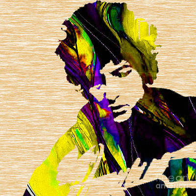 Pop Art Mixed Media - Bob Dylan Collection by Marvin Blaine