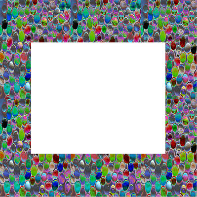 Unicorn Dust - Border Frames Square buy any FAA produt or download for self-printing  Navin Joshi Rights Managed Im by Navin Joshi