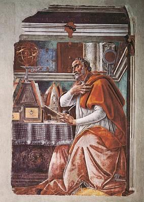 St. Augustine Photograph - Botticelli, Alessandro Di Mariano Dei by Everett