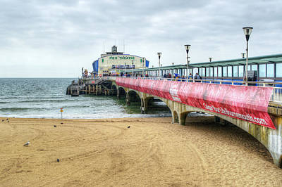 Photograph - Bournemouth Pier by Chris Day