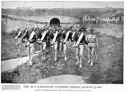 Boxer Rebellion, 1900 Art Print by Granger