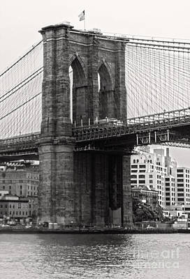Photograph - Brooklyn Bridge by Gregory Dyer
