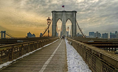 Photograph - Brooklyn Bridge by Jerry Gammon