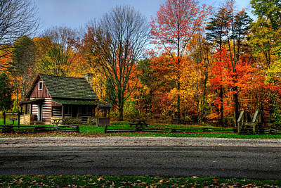 Photograph - Brown County Sp by Walt Sterneman