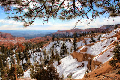 Bryce Canyon Art Print by Marti Green