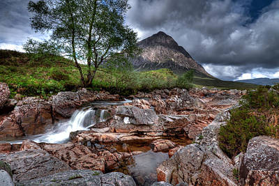 Photograph - Buachaille Etive Mor by Fiona Messenger
