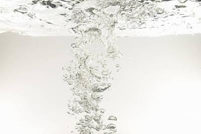 Bubbles Underwater Art Print by Sami Sarkis