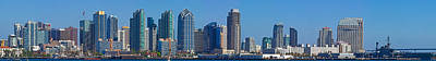Buildings At The Waterfront, San Diego Art Print by Panoramic Images