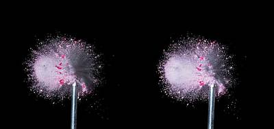 Three Speed Photograph - Bullet Hits Pill by Herra Kuulapaa � Precires