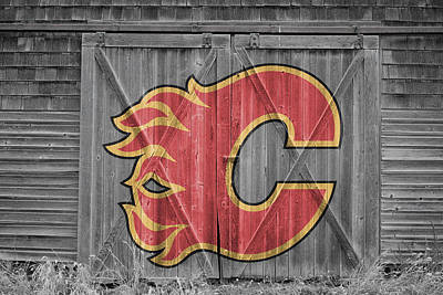 Photograph - Calgary Flames by Joe Hamilton