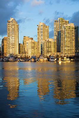 Canada, British Columbia, Vancouver Art Print by Walter Bibikow