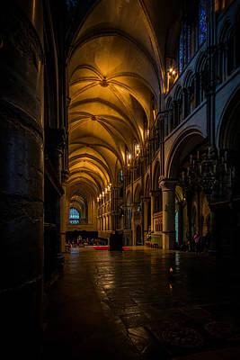 Canterbury Wall Art - Photograph - Canterbury Cathedral  by Ian Hufton