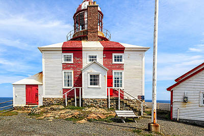 Photograph - Cape Bonavista Lighthouse by Perla Copernik