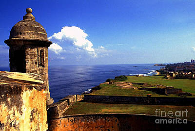 Castillo De San Cristobal Art Print by Thomas R Fletcher