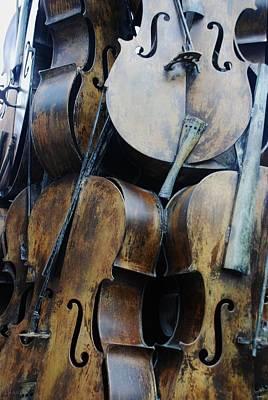 5 Cellos Art Print