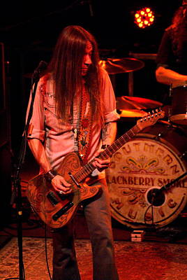 Photograph - Blackberry Smoke by Ben Upham