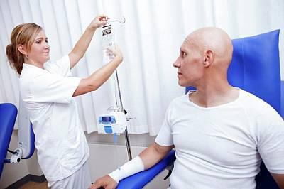 Chemotherapy Treatment Art Print by Thomas Fredberg