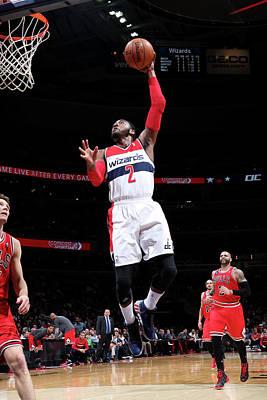 Photograph - Chicago Bulls V Washington Wizards by Ned Dishman