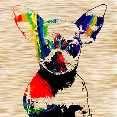 Chihuahua Mixed Media - Chihuahua by Marvin Blaine