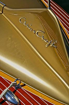 Photograph - Chris Craft Cobra by Steven Lapkin