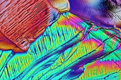 Citric Acid Crystals Art Print