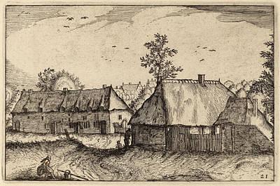Claes Jansz Visscher After Johannes Van Doetechum Art Print