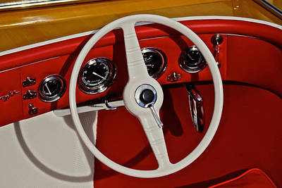 Classic Chris Craft Art Print by Steven Lapkin