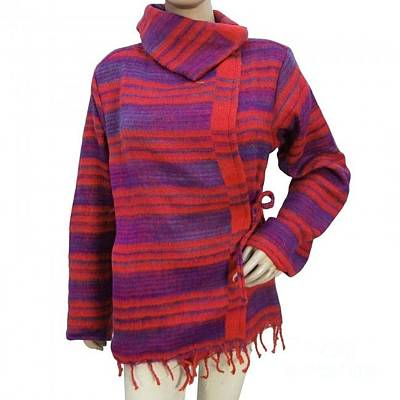 Poncho Mixed Media - Clothing by Indianbeautiful Art