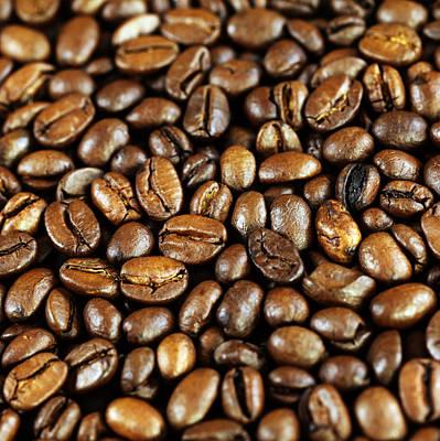 Sting Photograph - Coffee Beans by Falko Follert