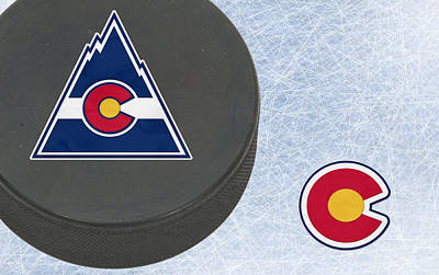 Hockey Photograph - Colorado Rockies by Joe Hamilton