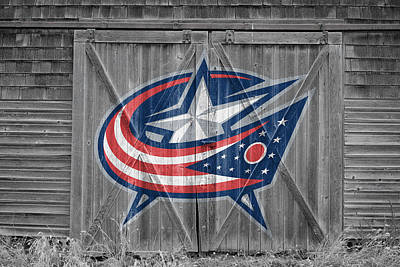 Photograph - Columbus Blue Jackets by Joe Hamilton