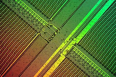 Computer Ram Module Art Print