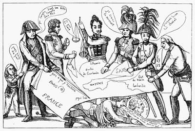Congress Of Vienna, 1815 Art Print by Granger