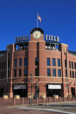 Photograph - Coors Field - Colorado Rockies by Frank Romeo