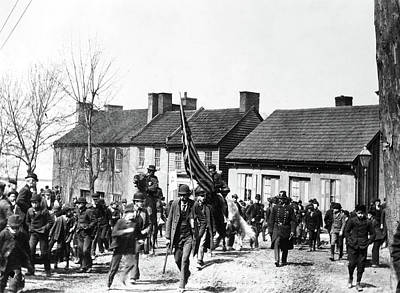 Washington Dc Neighborhoods Photograph - Coxey's Army, 1894 by Granger