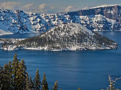 Music Figurative Potraits - Crater Lake Oregon by Steven Lapkin