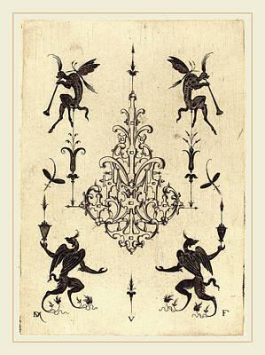 Daniel Mignot German, Active 1593-1596 Art Print by Litz Collection
