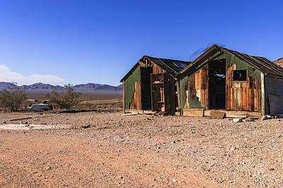 Photograph - Death Valley by Muhie Kanawati