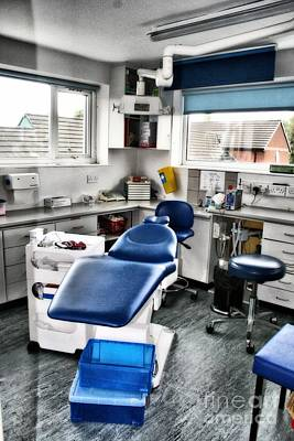 Photograph - Dentist Chair by Doc Braham