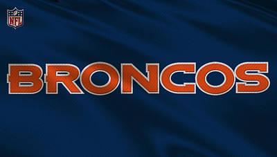 Denver Broncos Photograph - Denver Broncos Uniform by Joe Hamilton