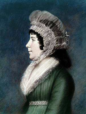 Dolley Madison Painting - Dolley Madison (1768-1849) by Granger