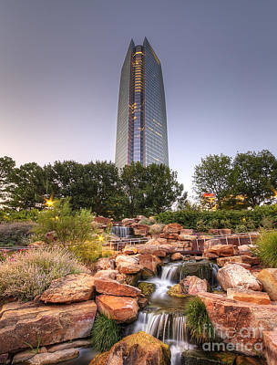Okc Photograph - Downtown Oklahoma City by Twenty Two North Photography